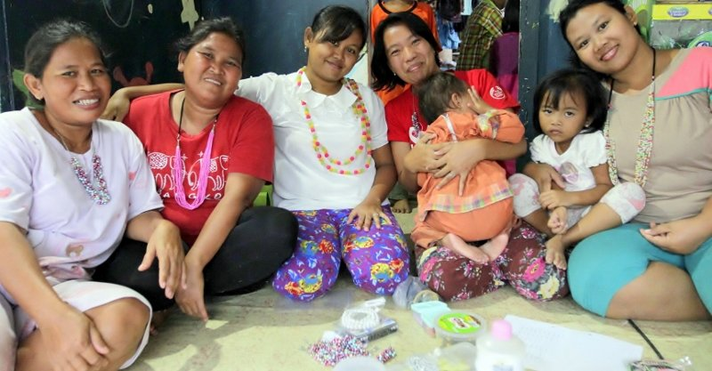 Future businesswomen Pena, Sani, Marni, Ipat & Nur