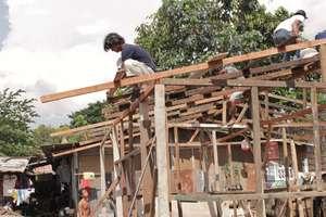 Ibu Salim's New Home Under Construction