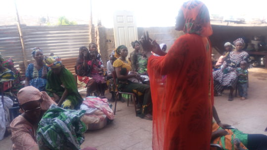 Assetou Toure spoke on the COVID-FGM radio show