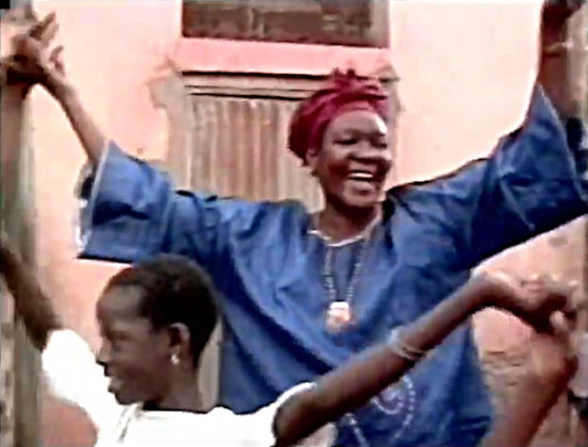 celebrating decision to stop FGM in music video