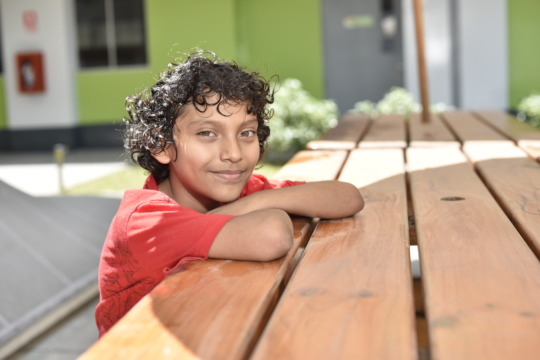 Diego - Future soccer player and singer