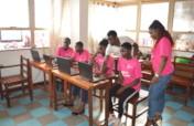 Digital literacy for 200 girls in Kampala slums.