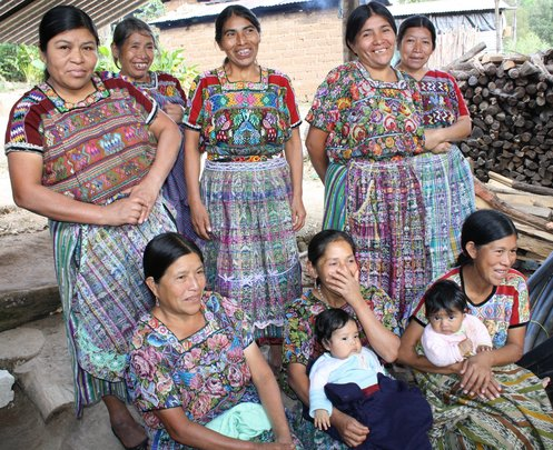 Maria Arcadia and her neighbors of Agua Caliente