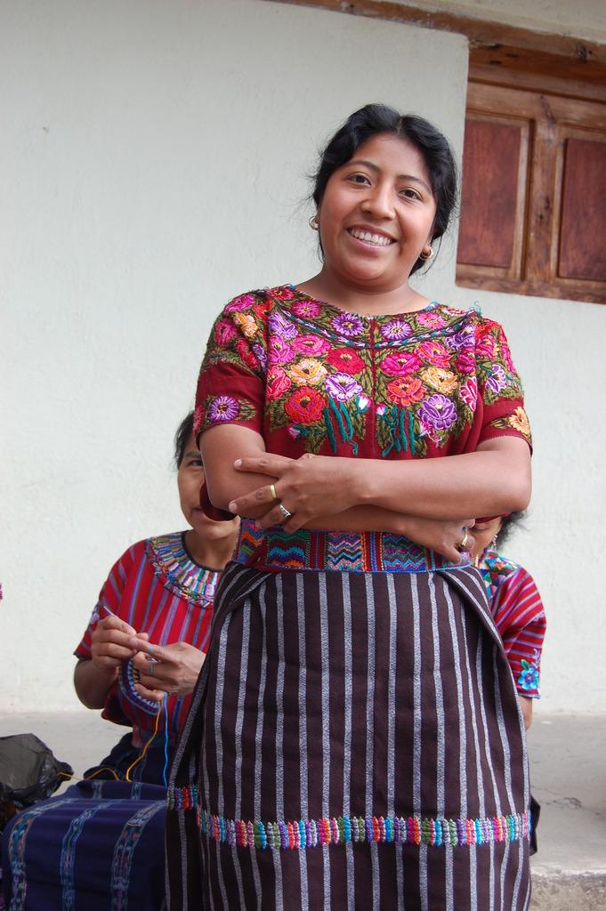 Weaver of San Marcos La Laguna