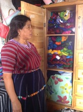 Juana keeps her investment under lock and key.