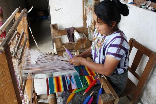 Weaver from Santiago, Atitlan