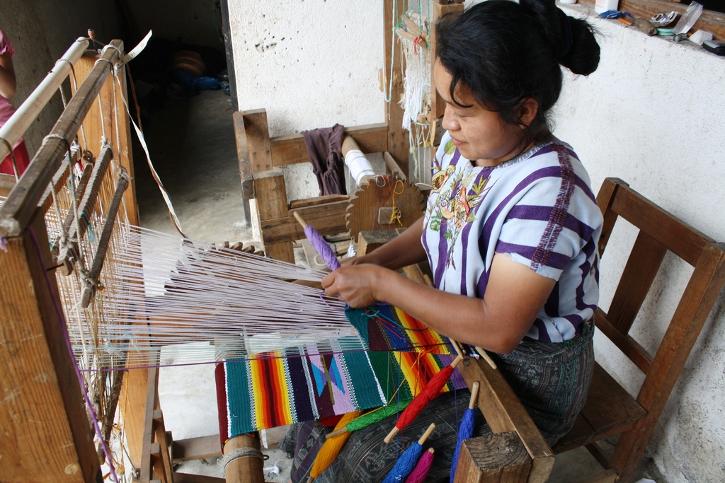 Weaver from Santiago, Atitlan