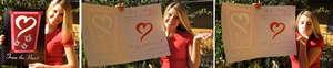 Celebrity Gabrielle Christian's Valentine Card