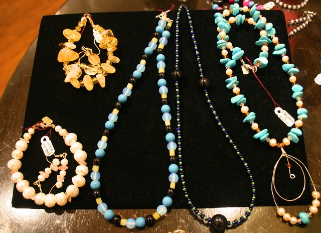 DC Jewelgirls jewlery on display at Wink! store