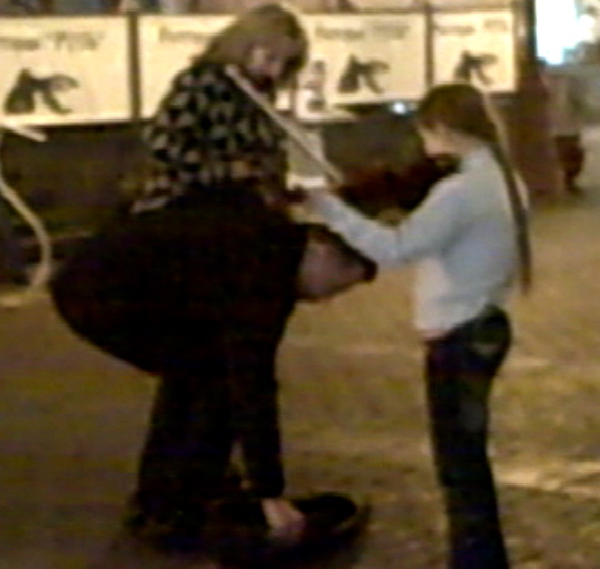 Young Russian GIrl Begging on the Streets