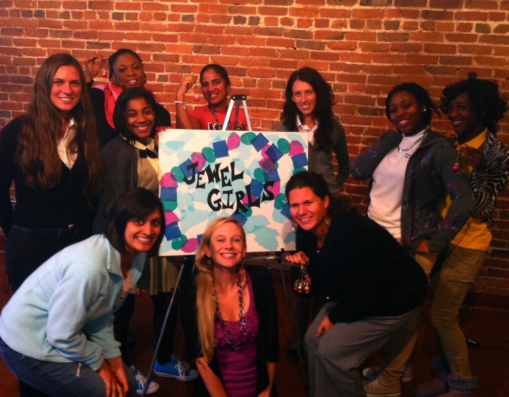 Our D.C. JewelGirls meet Elena from Russia!