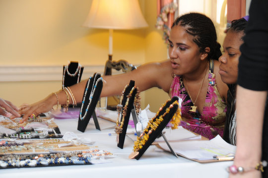 JewelGirls Expressing their inner business woman!
