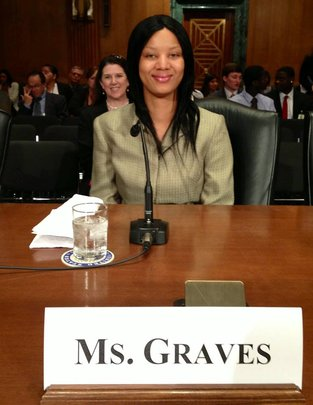 Ms. Graves at Senate Finance Committee Hearing