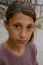 Roma Girl Living on Streets of Serbia