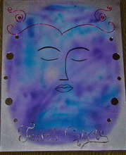 A Painting of Peace by a teen girl
