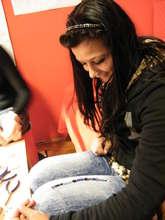 Teen Girl @ FAIR Fund enjoying our workshops
