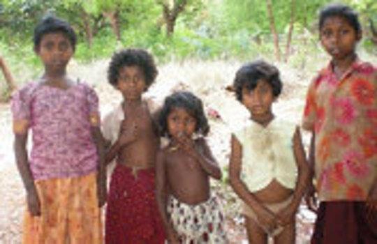 tribal children for educational home