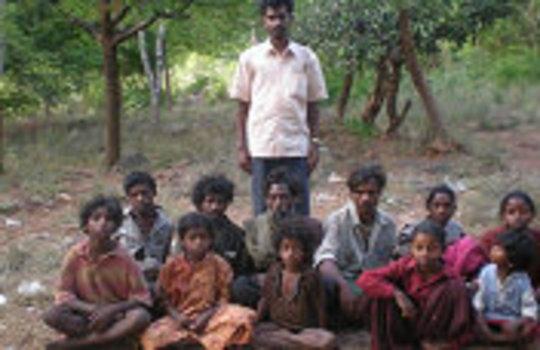 Tribe retrived from cave for housing rehabiltation