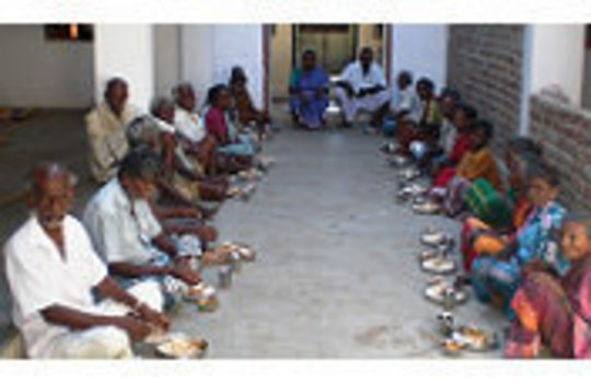 ROSI's old age home's inmates