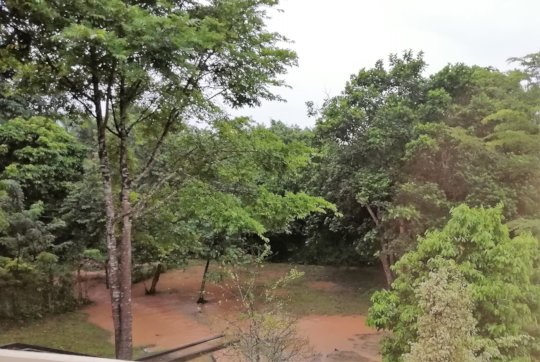 Floods after one heavy downpour!