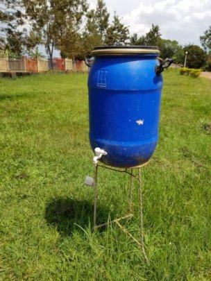 Corona measures: water for handwashing