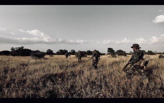 The Ol Pejeta armed rangers team.