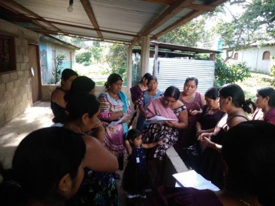 Women organizing