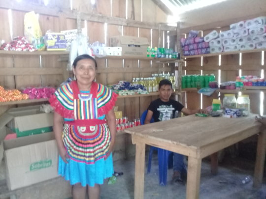 Grocery store, women's initiative