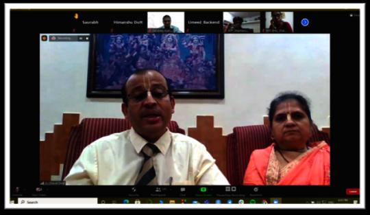 Session by Dr. Dalal from Bhaktivedanta Hospital