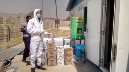Donation of PPE and Covid 19 prevention materials