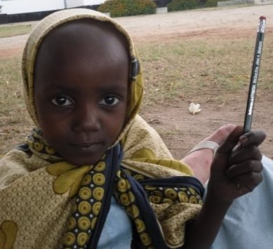 Khadija- young patient at Ward III