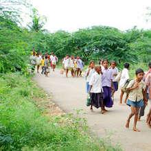 Arrival of children to school