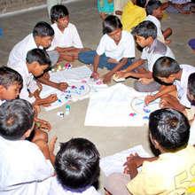 Providing skill training to the children