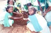 Protection of water sources and community forest