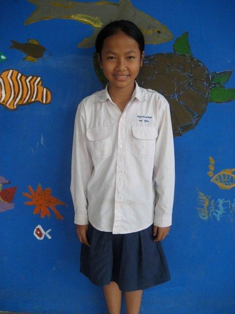 Sreyheng - A potential scholarship recipient