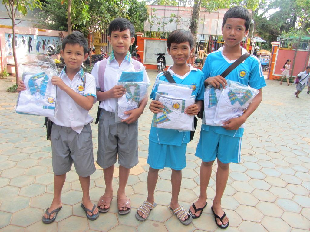 CCEdFund Scholarship Recipients in Siem Reap
