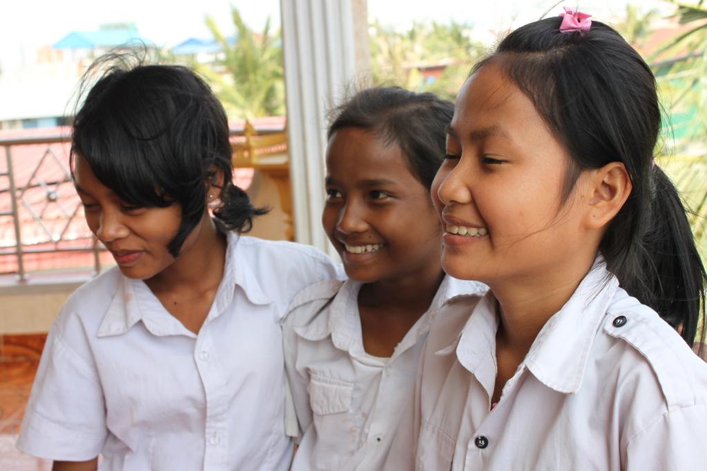 Tony, Channa, and Srey in Phnom Penh