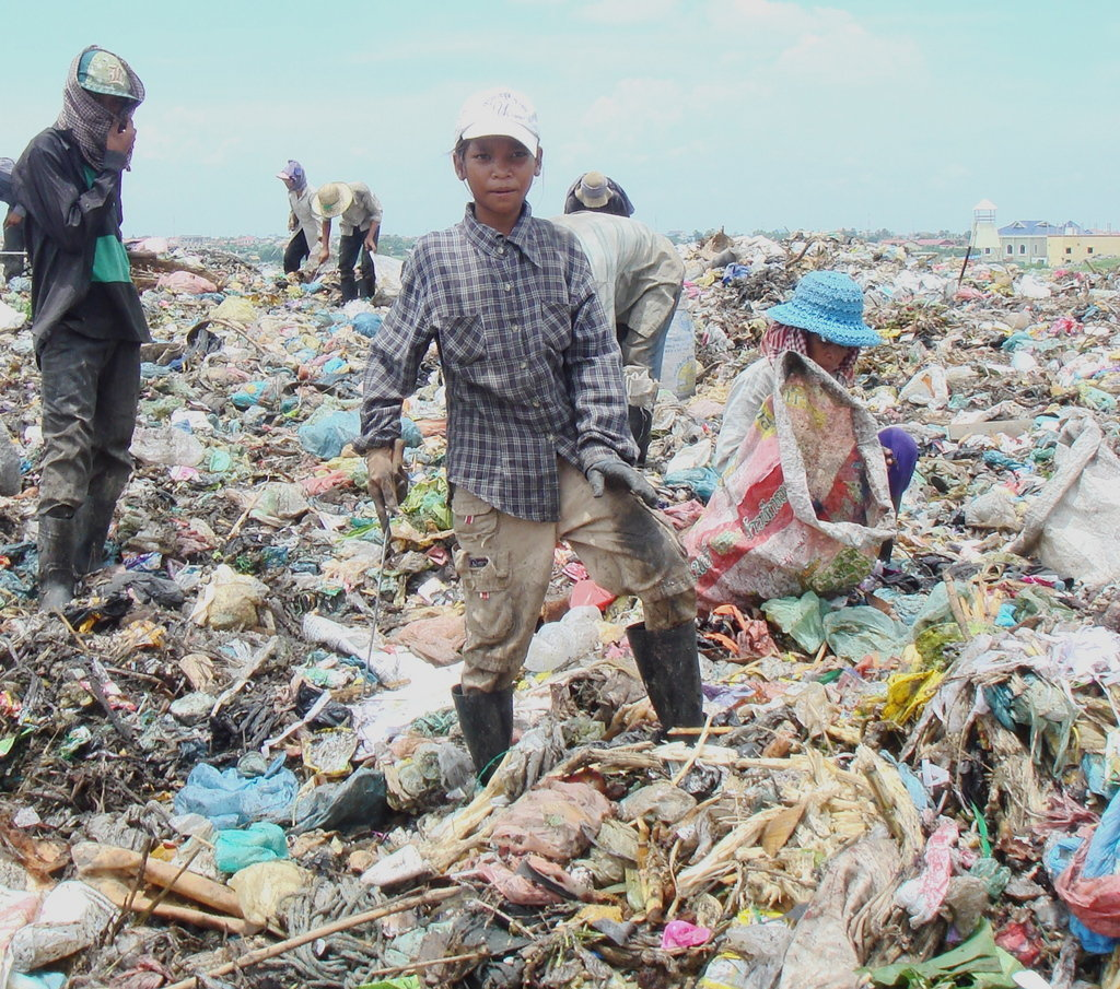 Education Scholarships for Cambodian Trash Pickers