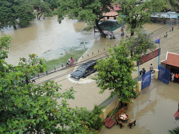 Flooding in Siem Reap