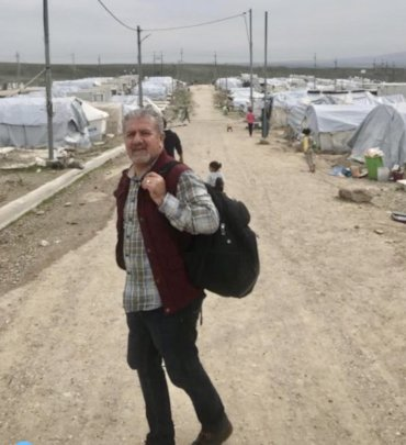 Aram in Bardarash camp