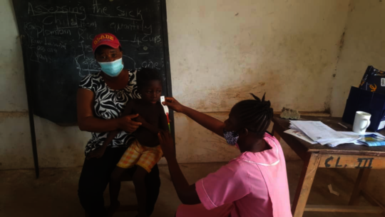 Health workers are now trained to assess nutrition
