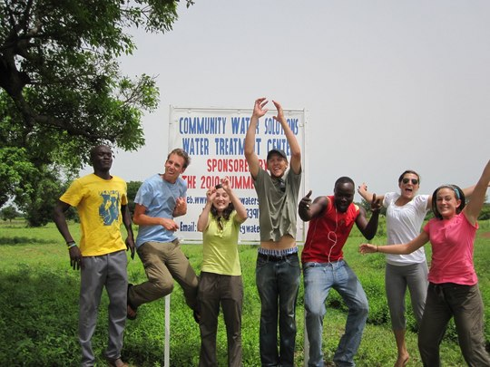 The 2010 Summer Fellows in Wambong