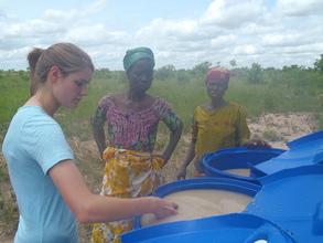 Christine training Mariama & Laseechey