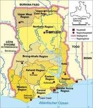 Ghana Regions