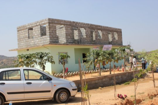 """The start of the renovation of """"Ashagram Orphanage"""