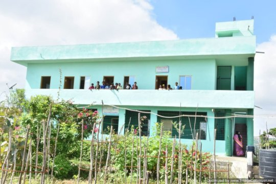 """First floor completion of Ashagram Orphanage"""" by"""