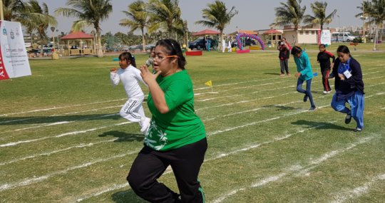 Support athletes with special needs in Pakistan
