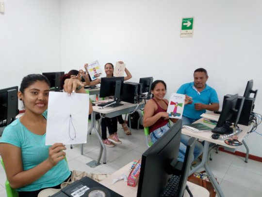 Students at the POETA Center