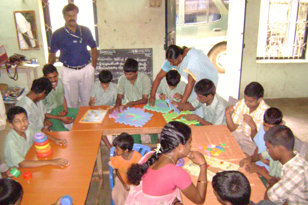 Rendering Services for Disabled Children in India