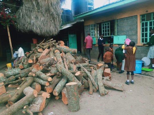 Wasteful way of fuel - wood fuel